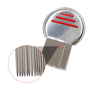 Professional Stainless Steel Hair Lice Comb - No Chemicals - UK Stock