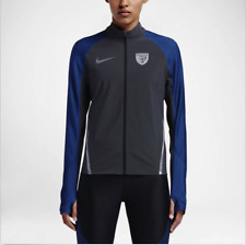 NWT Women's Nike NikeLab Gyakusou Stadium Jacket Silver Blue Small S 856252 004