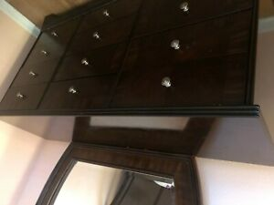 bedroom dresser with mirror used
