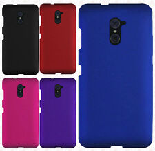 For ZTE Grand X Max 2 Rubberized Hard Protector Case Snap Phone Cover Accessory