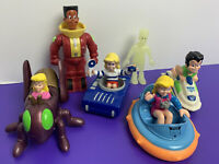 Lot of 6 Burger King Kids Club Toys and Figures Snaps Lingo Jaws BK 1990s Meal