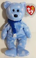 """TY Beanie Babies """"1999 HOLIDAY TEDDY"""" Christmas Bear - MWMT! RETIRED! MUST HAVE!"""