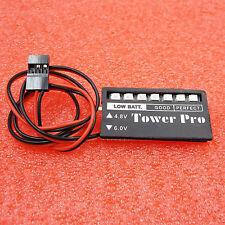 4.8v 6v 7 LED RC Model Receiver Battery Voltage Indicator Car auto