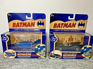 Corgi Batman 1960's DC Comics Batmarine & Batmobile 1:43 Diecast Collectibles