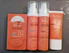 AVENE B-PROTECT SPF 50+ reflexe solaire SPF50+ 2 fluides   lot 4 solaires  NEUF