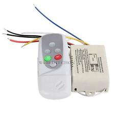 Wireless 3 Ways On/Off Digital Remote-Control Switch for LED Light AC 220-240V