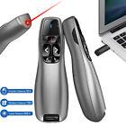 For Mac Laptop PPT Wireless Presenter Clicker Presentation Laser Pointer Remote