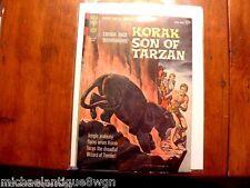 12c 1964 Gold Key #4 Korak Son Of Tarzan Comic High Grade Russ Manning Art