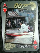 50 years 007 Bond The Man with Golden Gun James Bond Roger Moore Ace Hearts B1