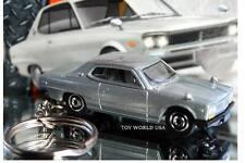 Custom Key Chain '71 Nissan Skyline 2000 GTX silver