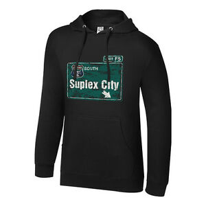 WWE BROCK LESNAR SUPLEX CITY PULLOVER HOODED SWEATSHIRT OFFICIAL NEW (ALL SIZES)