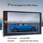 """7 """"Pulgadas 2 DIN Coche MP5 Reproductor de MP3 Pantalla Táctil Bluetooth Estereo"""