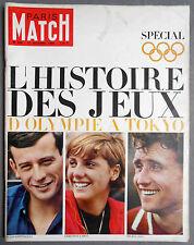 ►PM 810-1964- JEUX OLYMPIQUES D'OLYMPIE A TOKYO - BRIGITTE BARDOT 30 ANS
