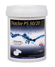 Diaclor Cloro Choque rápido para piscinas - Pastillas de 20 gr. - envase de 1 kg
