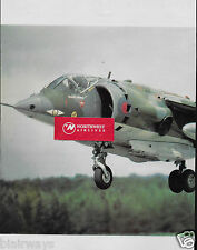 HAWKER SIDDELEY HARRIER RAF JET 2 PG DOWTY LANDING GEAR AD