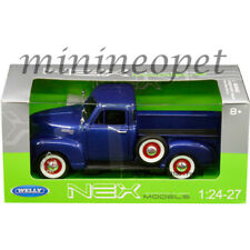 Welly 22087 1953 Chevrolet 3100 Pick Up Truck 1/24 - 1/27 Diecast Model Blue