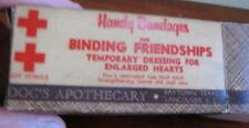Doc's Apothecary, Baytown, Texas, Handy Bandages gag joke gift item, box