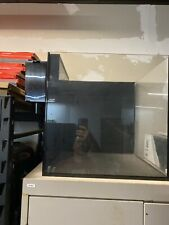 30 gallon Starfire glass cube aquarium with Synergy Reef Shadow overflow
