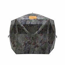 Barronett Blinds Feather Five Light Weight 5 Sided Pop Up Hunting Blind, Camo