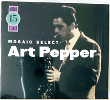 ART PEPPER : MOSAIC SELECT 15 COMPLETE 3CD LIMITED EDITION NUMBERED BOX SET