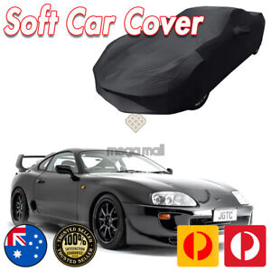 Black Show Car Dust Cover for Toyota Supra Washable Soft Plush