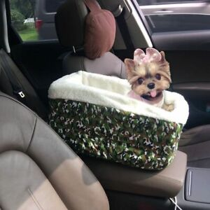 Dog Car Seat For Armrest Bags Vehicle Carrier For Small Pet Dogs Travel Vehicle
