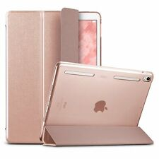 Apple iPad Pro 10.5 Luxury Leather Bumper Smart Rose Cover Screen Protector Case