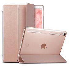 Apple Ipad Pro 10.5 de cuero de lujo cubierta de parachoques inteligente Rosa caso protector de pantalla