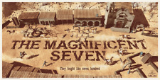 The Magnificent Seven Poster Print By Chris Skinner Like Mondo