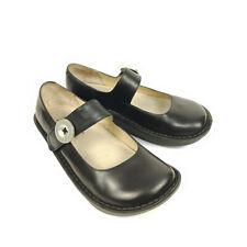 Alegria Paloma Mary Jane Clogs Black Women'ns 5 - 5.5 PAL-601 Leather Shoes 35