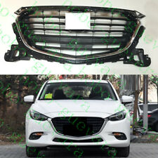 1pcs For Mazda Axela 2017 Front Upper Grille Bumper Top Roof Grill Grille Replce