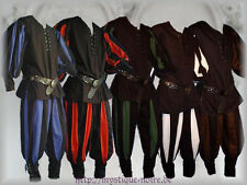 Medieval Lansquenet Costume Shirt & Trousers SCA Larp Reenactment