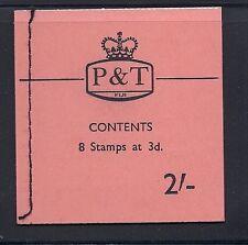 FIJI 1967 QEII SB5 (2sh booklet) VF