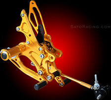HONDA CBR 1000RR 04-07 SATO RACING REARSETS REAR SETS