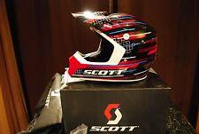 Scott 250 Series Helmet 2012 Race Red/black Motocross NEW Size XL