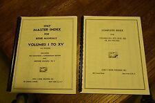 Index to Rider Perpetual Radio Manuals Volumes 1 to 22 (Reprint)  +Abridged 1-5
