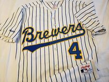 Paul Molitor 1988 Milwaukee Brewers Rawlings Authentic Jersey Size 38