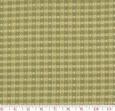 P Kaufmann Picnic Check Artichoke Green Gingham Woven Drapery Fabric BTY