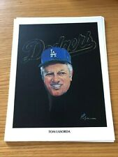 Tommy Lasorda Union 76 Print 1982 Los Angeles Dodgers Nick Volpe