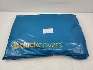 "Duck Covers Ultimate Waterproof Umbrella Cover 88"" Mocha Brown New In Open Bag"