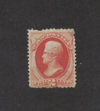 Scott 178 - Jackson 2 Cent. Single. MNG. Thin. + Tear     #02 178c