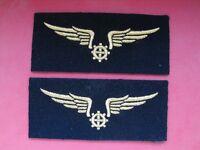 Lot insigne tissu écusson patch militaire Armée de l'Air Mécanicien Mécano Army