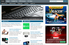 Great Computer Service Store Website  Free Installation + Free Hosting