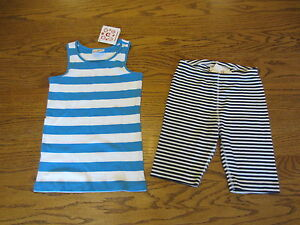 NEW Hanna Andersson Girls Outfit Size 120 (US 6, 7)