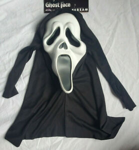 Ghost Face Scream Movie Mask Fun World Easter Unlimited Halloween Costume adult
