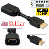 10cm Short Converter Male To Female Cable Extension Cable Lead Adapter HDMI