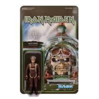 Iron Maiden Aces High Pilot Eddie Mascot Figur Reaction 3 3/4 Inch Super7
