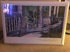 """""""Patrick's Porch"""" by Alice Dalton Brown Print -- Matted and Framed - Very Nice !"""
