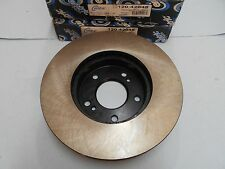 Premium Front Disc brake Rotor fits Q45 90-96 & J30 93-97 - Powder Coated Black