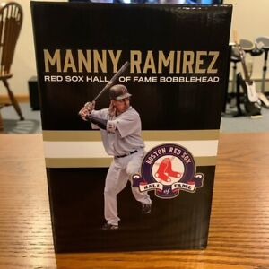 Manny Ramirez Hall Of Fame Bobblehead Figure Boston Red Sox Giveaway HOF